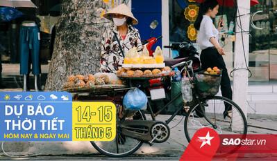 Dự báo thời tiết hôm nay và ngày mai 15/5: Hà Nội và TPHCM buổi trưa oi nóng, mưa dông vào chiều tối