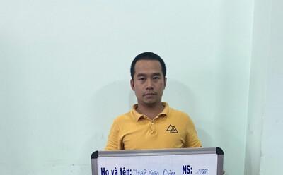 Khởi tố người đàn ông 'thuê' nhóm người tạt sơn nhà con nợ ở Sài Gòn