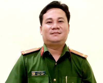 Trung tá Lê Duy Bình: Dù dịch bệnhphức tạp, vẫn sẵn sàng phương án bảo đảm an toàn cho ngày bầu cử