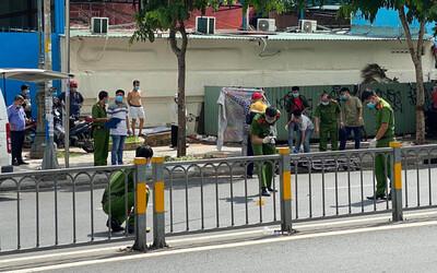 TP.HCM: Người đàn ông mặc áo GrabBike bị đâm chết trước cổng Bệnh viện Nhi đồng 1