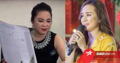 Vy Oanh 'đáp trả' sâu cay bà Phương Hằng khi bị tố 'cặp đại gia': 'Cô giữ sức khỏe để chửi con nha'