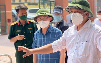 Thứ trưởng Nguyễn Trường Sơn: Dịch ở Bắc Giang rất phức tạp, nguy hiểm, biến thể virus lây quá nhanh