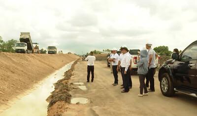 Tiền Giang: Cao tốc Trung Lương- Mỹ Thuận đạt gần 70% toàn dự án