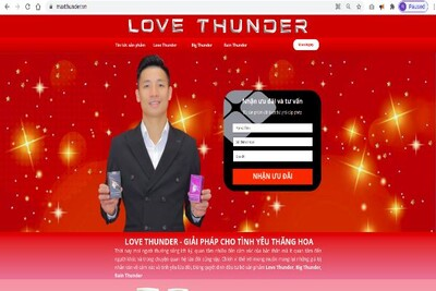 Sự thật về sản phẩm 'vua kẹo phòng the'Love Thunder của cầu thủ Bùi Tiến Dũng