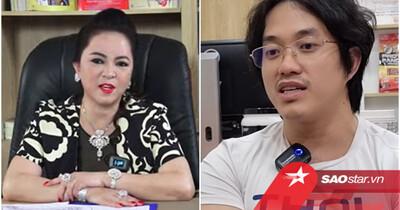 Gymer Duy Nguyễn lại được phen 'mát ruột' khi tiếp tục được bà Nguyễn Phương Hằng bênh vực ra mặt