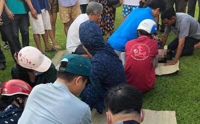 2 nam sinh bị đuối nước thương tâm ở Hà Tĩnh, người thân gào khóc bên thi thể
