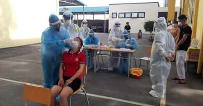 Qua test nhanh, Bắc Giang phát hiện 98 người dương tính SARS-CoV-2