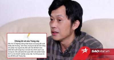 Hoài Linh lại gặp 'biến căng': Một tài khoản MXH của nam NS có nguy cơ bị xóa sổ vì lí do này
