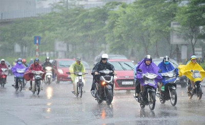 Dự báo thời tiết 5/6: Bắc Bộ mưa dông, Trung Bộ nắng nóng gay gắt