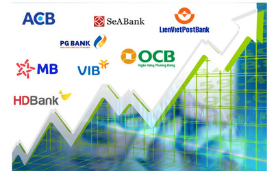 Cổ phiếu ngân hàng nào tăng giá mạnh nhất tuần qua?