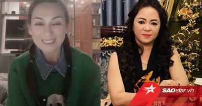 Ca sĩ Phi Nhung hát tặng bà Phương Hằng, nhắn nhủ: 'Chị gọi tên em, nếu em sai, em sẵn sàng xin lỗi'