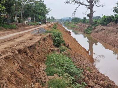 Tam Nông – Phú Thọ: Người dân bất an vì thi công dự án tiền tỷ