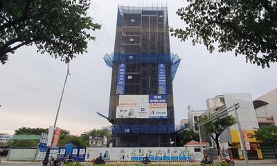 Đà Nẵng: Công trình 15 tầng xây dựng sai với giấy phép