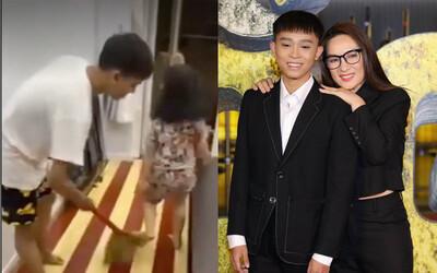 Giữa biến, MXH rầm rộ clip con gái nuôi nói với Phi Nhung: 'Mẹ bắt anh Cường đi hát với mẹ, mẹ có trả tiền đâu'