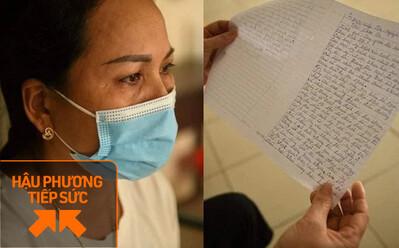 Bức thư cảm ơn của mẹ BN suýt tử vong vì Covid-19 truyền thêm động lực cho y bác sĩ tuyến đầu
