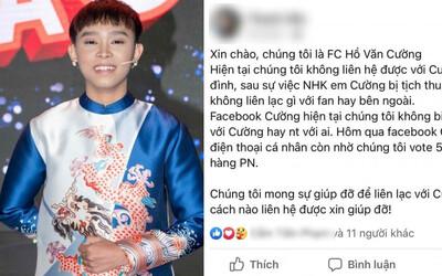 Rộ tin FC không liên lạc được với Hồ Văn Cường: Bị thu điện thoại nhưng FB vẫn đi xin vote 5 sao cho nhà hàng Phi Nhung?