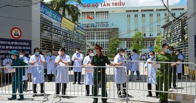 Hà Nội: Chính thức kết thúc cách ly y tế Bệnh viện K Tân Triều