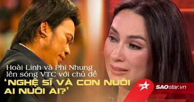 Hoài Linh và Phi Nhung lên sóng truyền hình VTC14 với chủ đề 'Nghệ sĩ và con nuôi: Ai nuôi ai?'