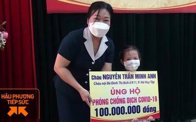 Bé gái 5 tuổi ủng hộ 100 triệu đồng cho quỹ phòng dịch Covid-19: Đây là khoản tiền dành để du lịch, học hè trong 2 năm
