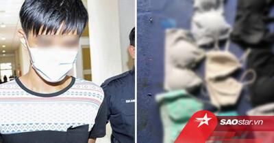 Nam thanh niên bị bắt vì tàng trữ nhiều đồ lót của phụ nữ