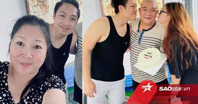 NS Hồng Vân đăng ảnh bên gia đình sau lùm xùm, netizen chỉ chú ý đến chàng 'quý tử' điển trai