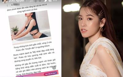 Puka lên tiếng chính thức về tin đồn có thai với Gin Tuấn Kiệt