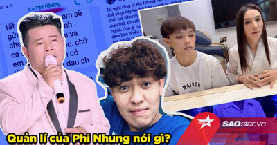 Quản lí Phi Nhung nói gì khi 'cha đẻ hit Em gái quê' tung tin nhắn tố nữ ca sĩ hăm dọa và thách thức?