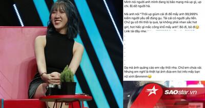 Nữ chính show hẹn hò nói gì khi bị 'bóc phốt' công khai quảng cáo cho 'web đen'?