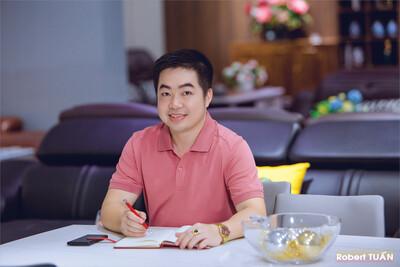 Robert Tuấn luôn giữ nguồn năng lượng tích cực cho bản thân và lan tỏa đến cộng đồng