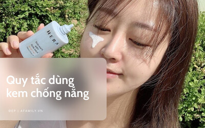 Bôi kem chống nắng: 5 lưu ý để da được bảo vệ đến mức 'bất khả xâm phạm'