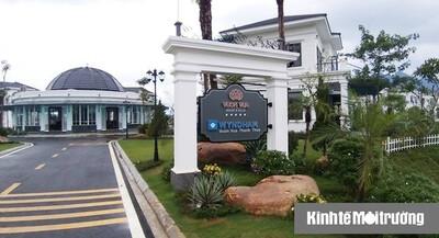 Cần làm rõ hoạt động khai thác nước khoáng nóng tại dự án Vườn Vua Resort & Villas