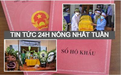 Nóng nhất tuần qua: Chấm dứt cấp sổ hộ khẩu giấy; thảm án 3 người chết ở Thái Bình; quân nhân Trần Đức Đô tử vong