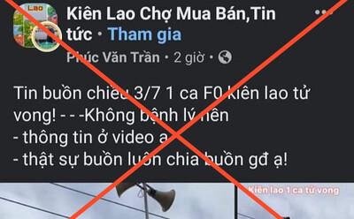 Bắc Giang bác thông tin bệnh nhân 32 tuổi, không bệnh nền, không triệu chứng qua đời