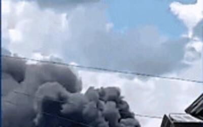 Video: Cận cảnh hiện trường tan hoang, khói bay ngập một vùng trời của vụ rơi máy bay thảm khốc khiến 45người thiệt mạng