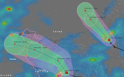2 áp thấp nhiệt đới cùng hoạt động trên Biển Đông, 1 có thể thành bão hướng vào đất liền