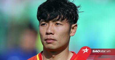 Tiền vệ Zhang Xizhe: 'Chúng tôi từng không quan tâm đến tuyển Việt Nam'