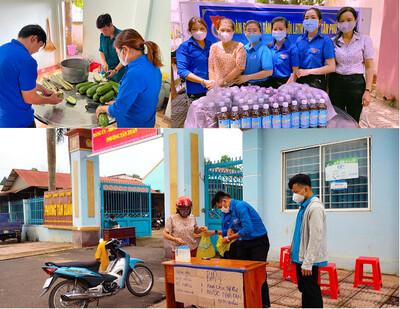 Thắm sức trẻ Bình Phước gây quỹ phòng chống dịch với nhiều nét độc đáo