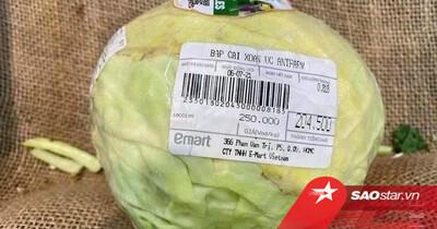 Thực hư thông tin siêu thị bán bắp cải giá 'cắt cổ' 250.000 đồng/kg giữa mùa dịch COVID-19