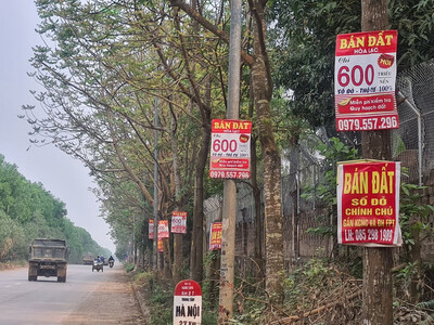 Cảnh báo chiêu trò 'thổi' giá bất động sản
