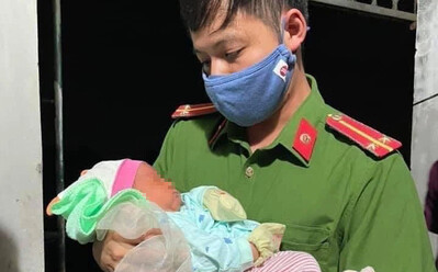 Hà Nội: Bé trai sơ sinh bị bỏ rơi gần cánh đồng kèm lời nhắn 'tôi là mẹ đơn thân, không có điều kiện nuôi con'