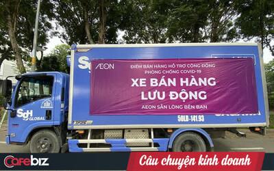 AEON tuyên bố đã dự trữ thực phẩm gấp 3-7 lần để bình ổn giá, tổ chức đội xe lưu động bán hàng khắp Sài Gòn