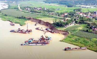 Công ty Gia Thịnh bị dân phản ánh vì khai thác cát trên sông Lô: Sở TN&MT Phú Thọ nói gì?