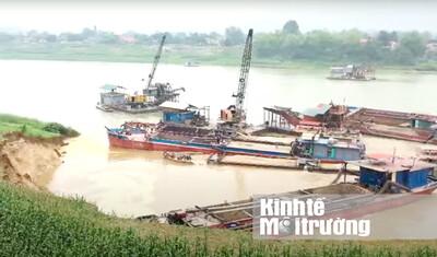 Phú Thọ: UBND xã đề nghị thu hồi giấy phép khai thác cát của Công ty Gia Thịnh