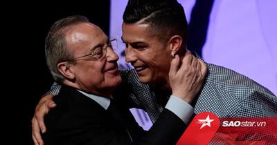 Chủ tịch Real Madrid nói Ronaldo là 'thằng ngu, một kẻ bệnh hoạn'