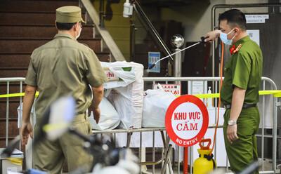Các địa điểm cách ly, phong toả tại Hà Nội sau khi phát hiện có người dương tính SARS-CoV-2