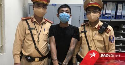Hà Nội: Thanh niên mang theo ma tuý bị tài xế Grab chở thẳng vào chốt CSGT