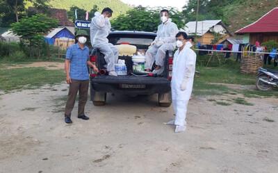 Nam tài xế đang đi giao hàng thì vào viện xin test, kết quả nhiễm SARS-CoV-2