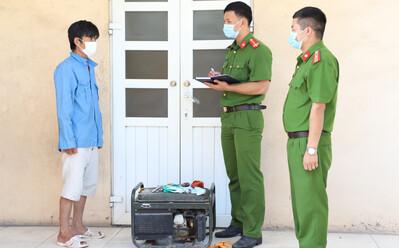 Gã thanh niên Nam Định gây ra 40 vụ trộm cắp tài sản ở đình, chùa