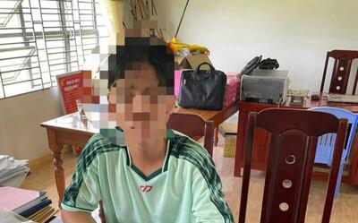 Vụ thầy hiệu trưởng bị sát hại: Trên đường tẩu thoát, nam sinh vứt điện thoại của thầy giáo xuống đầm