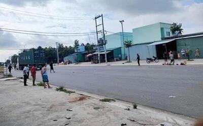 Đi mua thuốc, chồng tử vong còn vợ nguy kịch giữa ngã tư trong khu công nghiệp Bàu Bàng